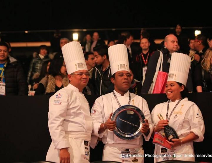 ICC 2015 : Madagascar, remporte le prix du plus beau buffet.