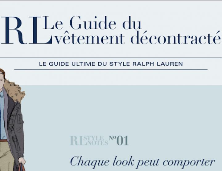 Ralph Lauren: 6 conseils pour un look 100% décontracté