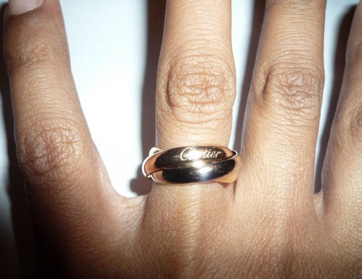 Trinity: 3 anneaux, 3 ors... pour la vie!