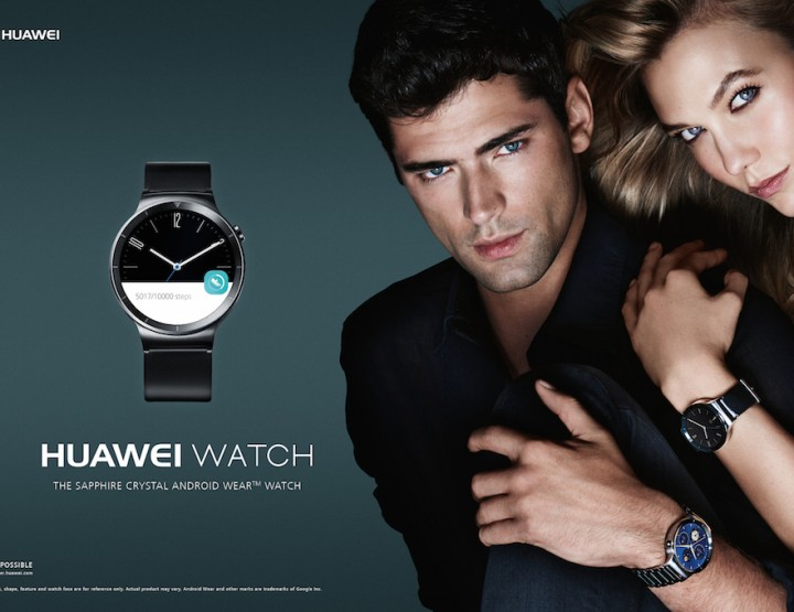 The new Huawei watch